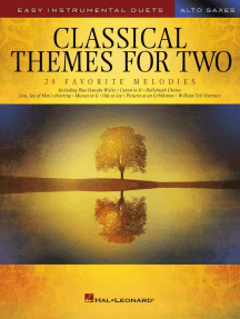 Classical Themes for Two Alto Saxophones: Easy Instrumental Duets