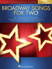 Broadway Songs for Two Trumpets: Easy Instrumental Duets