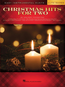 Christmas Hits for Two Alto Saxes: Easy Instrumental Duets