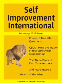 Self Improvement International: February 2019