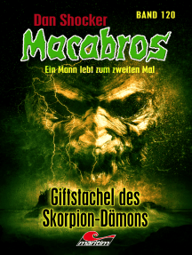 Dan Shocker's Macabros 120: Giftstachel des Skorpion-Dämons
