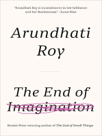 The End of Imagination