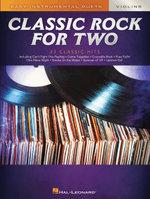 Classic Rock for Two Violins: Easy Instrumental Duets