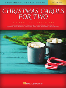 Christmas Carols for Two Flutes: Easy Instrumental Duets