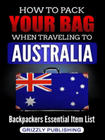 How to Pack Your Bag When Traveling to Australia