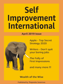 Self Improvement International: April 2019