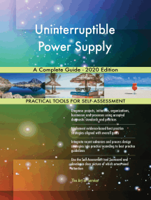 Uninterruptible Power Supply A Complete Guide - 2020 Edition
