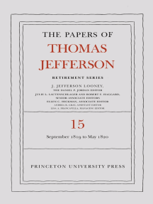 The Papers of Thomas Jefferson: Retirement Series, Volume 15: 1 September 1819 to 31 May 1820