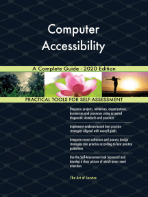 Computer Accessibility A Complete Guide - 2020 Edition