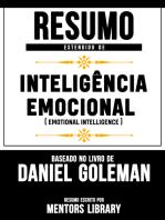 """Resumo Estendido De """"Inteligência Emocional"""" (Emotional Intelligence) - Baseado No Livro De Daniel Goleman"""