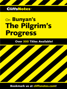 CliffsNotes on Bunyan's Pilgrim's Progress