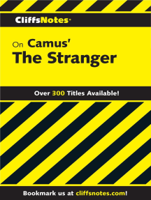 CliffsNotes on Camus' The Stranger