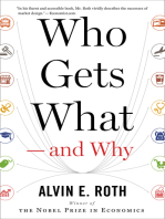 Who Gets What — and Why