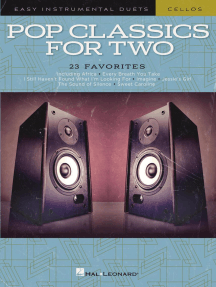 Pop Classics for Two Cellos: Easy Instrumental Duets