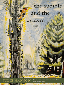 The Audible and the Evident: Poems