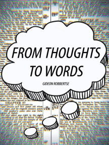 From Thoughts to Words