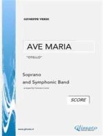 """AVE MARIA """"Otello"""" - G.Verdi (SCORE)"""
