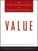 Value: The Four Cornerstones of Corporate Finance