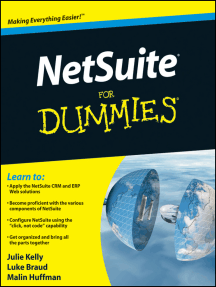 NetSuite For Dummies by Julie Kelly, Luke Braud, and Malin Huffman