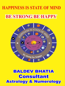 Happiness Is State of Mind- Be Strong Be Happy