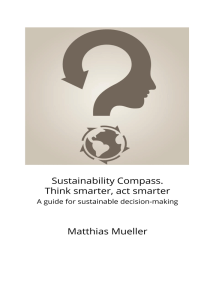 Sustainability Compass. Think smarter, act smarter