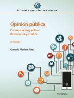 Opinión pública: Comunicación política, democracia y medios