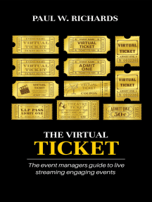 The Virtual Ticket: How to Host Private Live Streams & Virtual Events