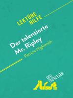Der talentierte Mr. Ripley von Patricia Highsmith (Lektürehilfe)