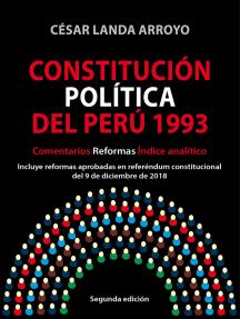 Constitución Política del Perú 1993: Comentarios, reformas, índice analítico