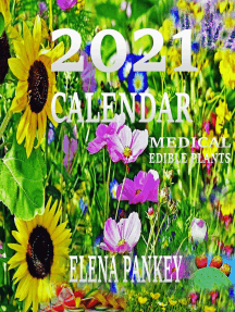 Calendar 2021.Medical & Edible Plants