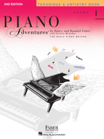 Level 1 - Technique & Artistry Book - 2nd Edition: Piano Adventures®