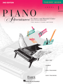 Level 1 - Theory Book - 2nd Edition: Piano Adventures®
