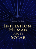 Initiation, Human and Solar