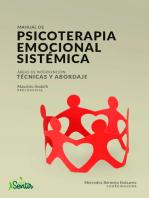 Manual de psicoterapia emocional sistémica
