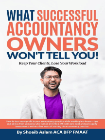 What Successful Accountancy Owners Won't Tell You