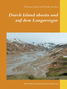 Durch Island abseits und auf dem Laugarvegur: Bericht über eine abenteuerliche Wanderung