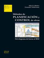 Métodos de planificación y control de obras
