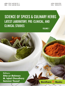 Science of Spices and Culinary Herbs - Latest Laboratory, Pre-clinical, and Clinical Studies