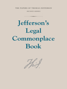 Jefferson's Legal Commonplace Book