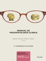 Manual de psicopatología clínica. 2ª ed.
