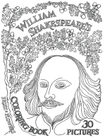 William Shakespeare's Coloring Book