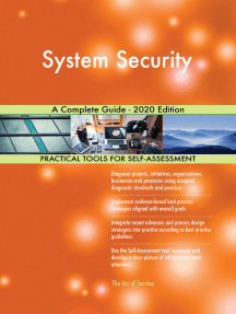 System Security A Complete Guide - 2020 Edition