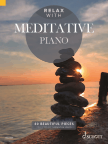 Relax with Meditative Piano: 40 Beautiful Pieces