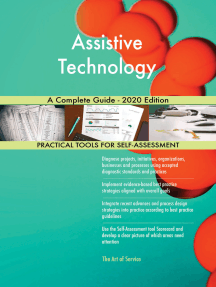 Assistive Technology A Complete Guide - 2020 Edition