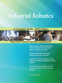 Industrial Robotics A Complete Guide - 2020 Edition