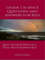 Grade 3 Science Questions and Answers for Kids: Quiz, MCQs & Practice Tests with Answer Key (3rd Grade Science Worksheets & Quick Study Guide)