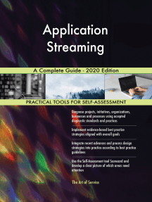 Application Streaming A Complete Guide - 2020 Edition