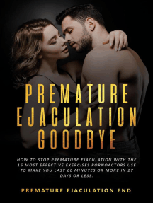 Read Premature Ejaculation: GoodBye - How to Stop Premature ...