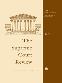 The Supreme Court Review, 2019