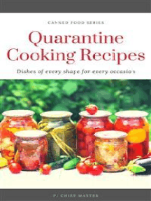 Quarantine Cooking Recipes: Canned food series